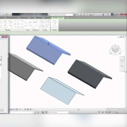 آموزش مدل سازی سقف شیب دار در Revit