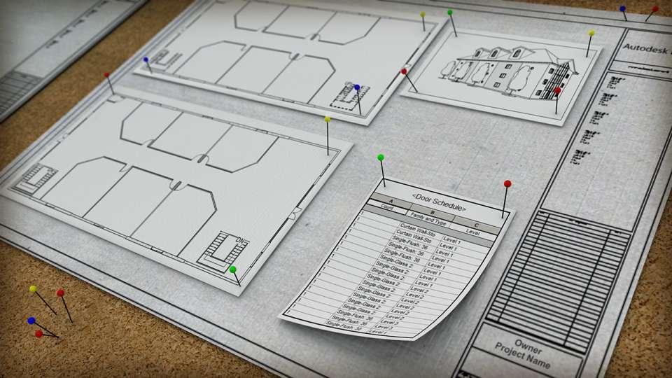 آموزش انواع شیت بندی در Revit - sheet revit 2