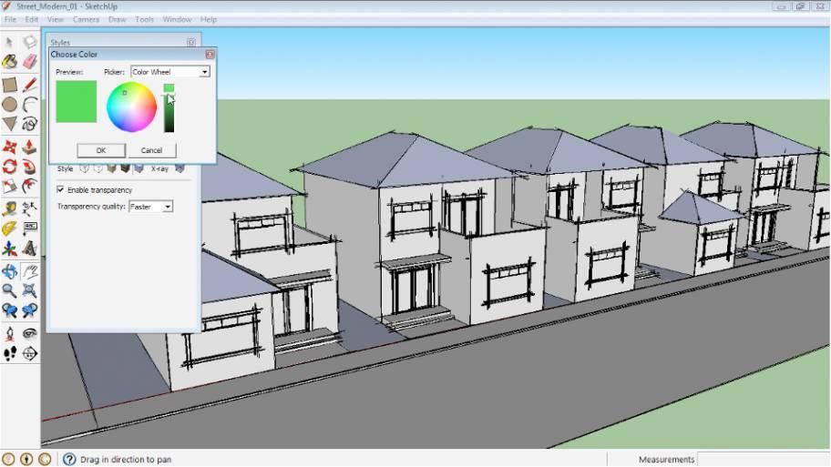 آموزش مدل سازی جزئیات معماری در اسکچاپ