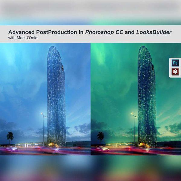 آموزش حرفه ایی پست پروداکشن در نرم افزار Photoshop - tutorial post production photoshop 600x600