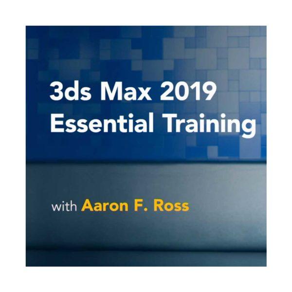 آموزش تری دی مکس 2019 - 3ds max 2019 essential trainings 600x600