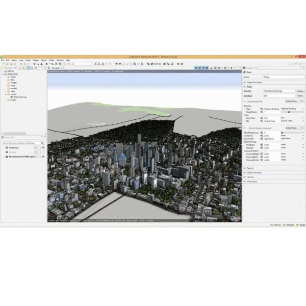آموزش ساخت شهر با CityEngine - آموزش CityEngine - آموزش ساخت شهر