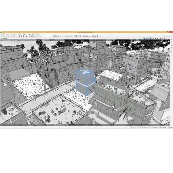 آموزش ساخت شهر با CityEngine - cityengine tutorial 3 1 600x600