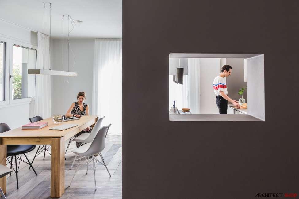 طراحی خانه ایی برای نابینایان در ایتالیا - Blind House 4