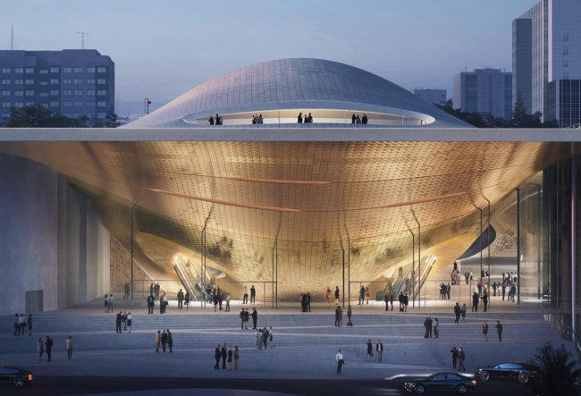 طراحی سالن کنسرت Sverdlovsk در روسیه