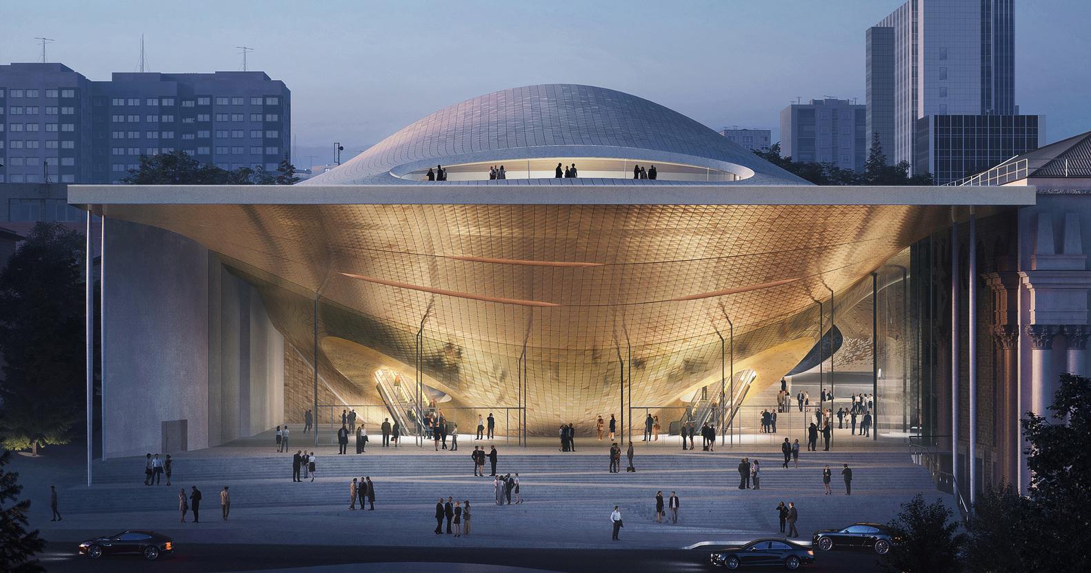 طراحی سالن کنسرت Sverdlovsk در روسیه - Concert hall Sverdlovsk 1 1