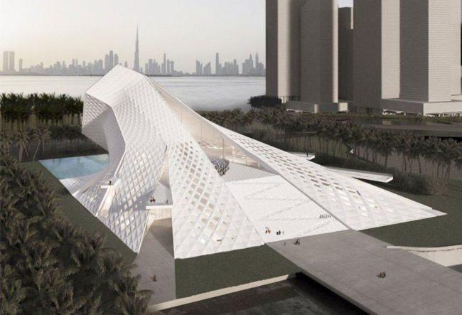 طراحی مسجد معاصر دبی با تاثیرپذیری از ماهیت نور