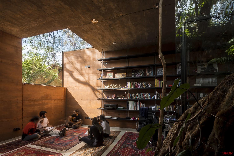 طراحی دفتر کار معماری در پاراگوئه - Earth Box 1 1