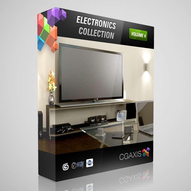 آبجکت لوازم الکترونیک از CGAxis