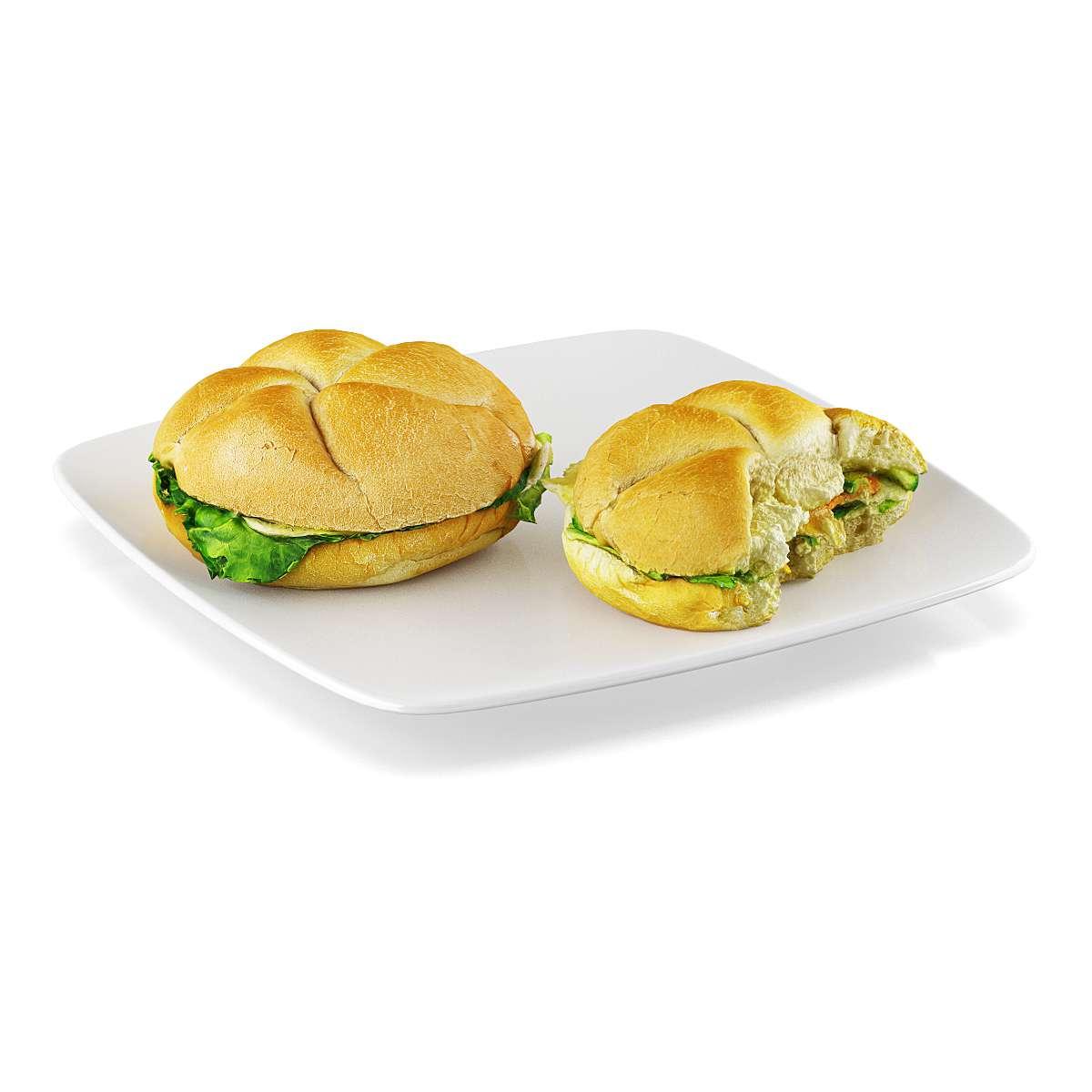 دانلود مدل سه بعدی غذا
