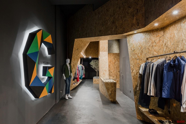 طراحی داخلی فروشگاه پوشاک مردانه - Gentleman 3 1