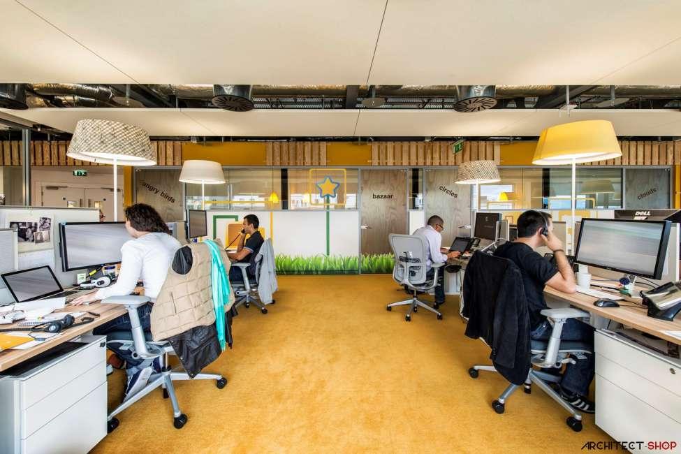 طراحی دفتر کار گوگل - Google Campus Dublin 12