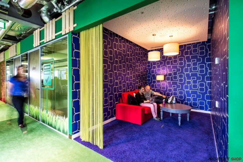 طراحی دفتر کار گوگل - Google Campus Dublin 14