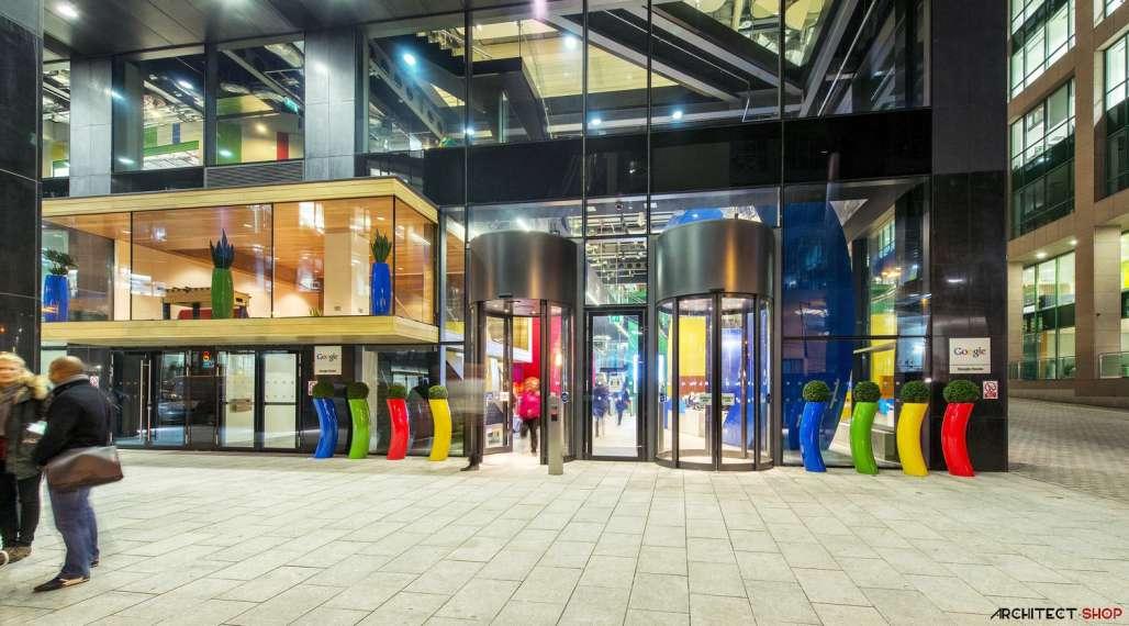 طراحی دفتر کار گوگل - Google Campus Dublin 24
