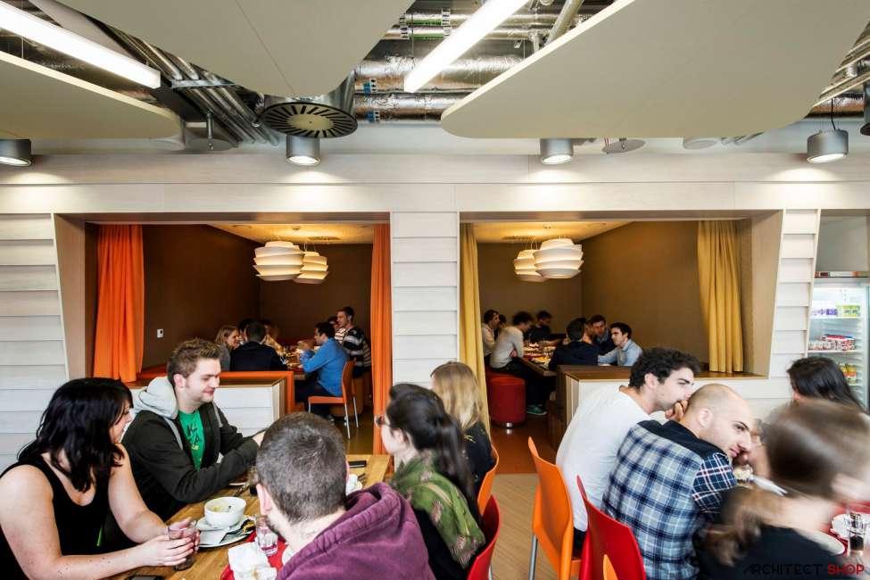 طراحی دفتر کار گوگل - Google Campus Dublin 7