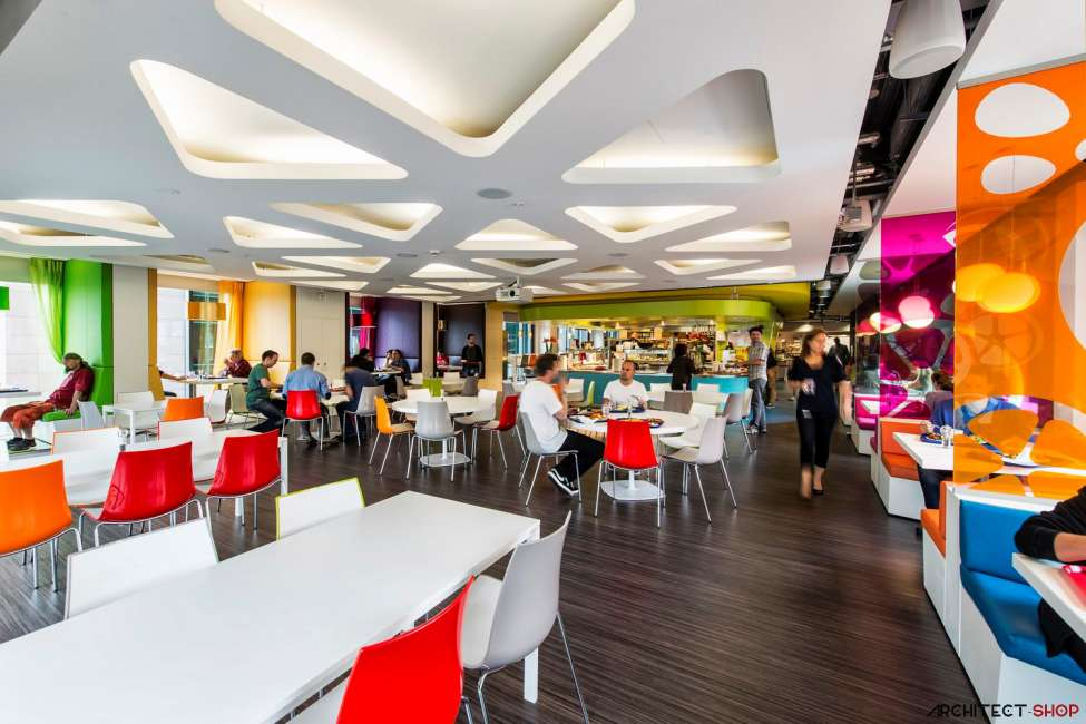 طراحی دفتر کار گوگل - Google Campus Dublin 8