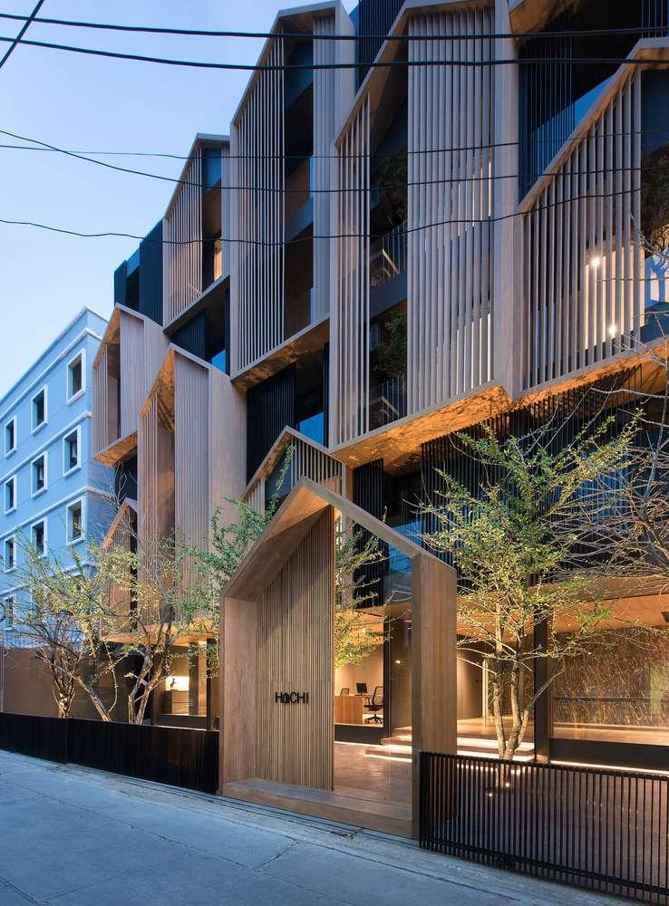 طراحی آپارتمان اجاره ایی در تایلند - HACHI Apartment 14