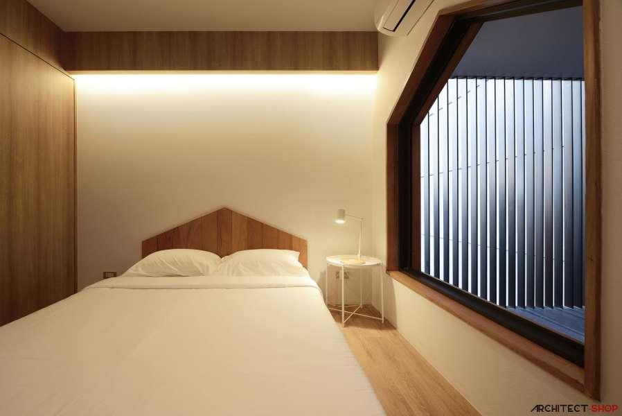 طراحی آپارتمان اجاره ایی در تایلند - HACHI Apartment 18
