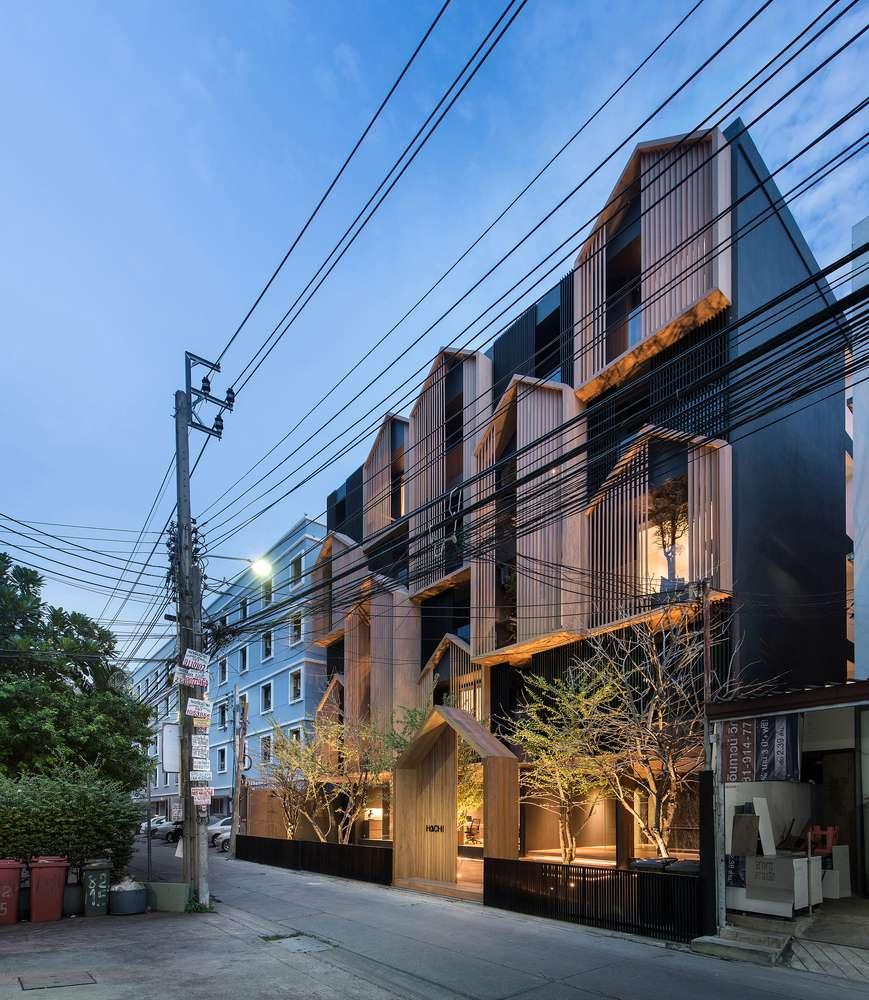 طراحی آپارتمان اجاره ایی در تایلند - HACHI Apartment 20