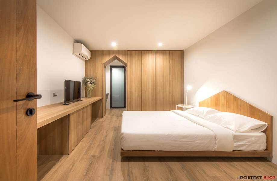 طراحی آپارتمان اجاره ایی در تایلند - HACHI Apartment 6