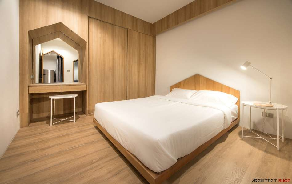 طراحی آپارتمان اجاره ایی در تایلند - HACHI Apartment 8
