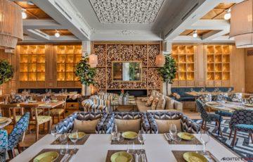 طراحی رستوران کلاسیک در مادرید