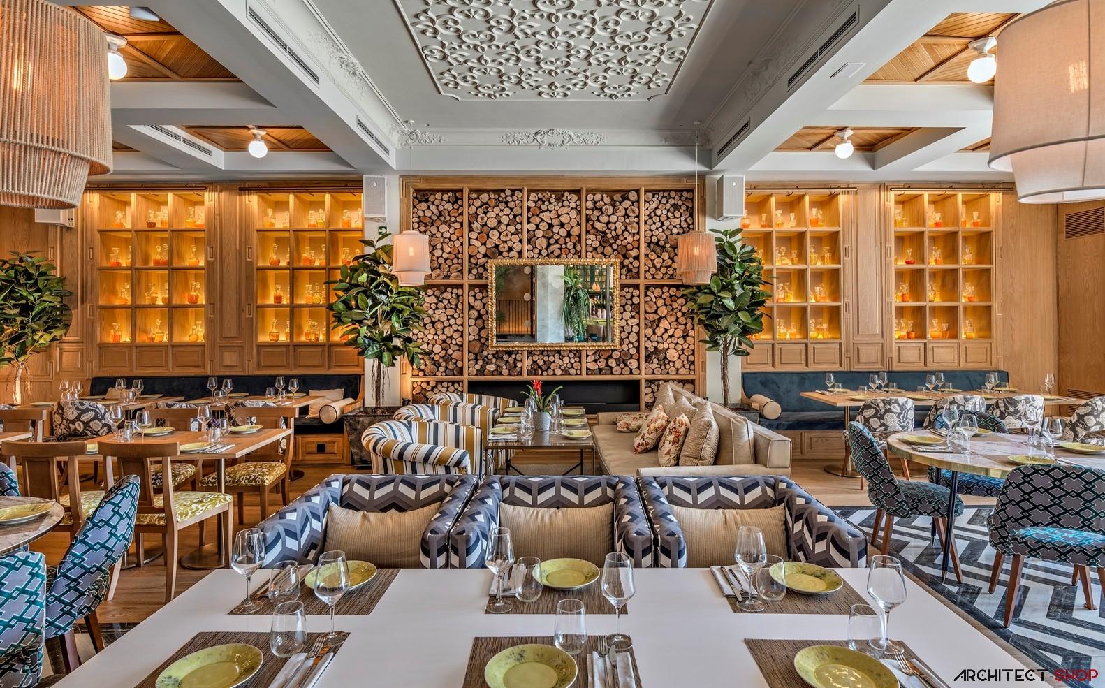 طراحی رستوران کلاسیک در مادرید - Habanera restaurant 2 1