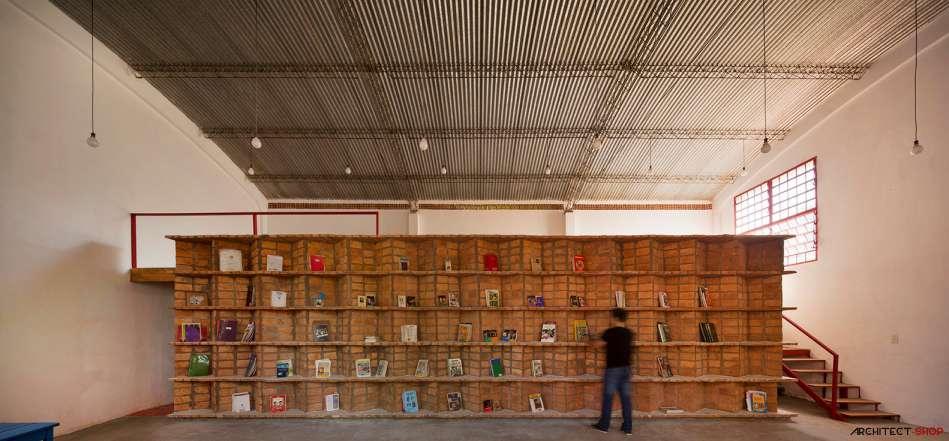 30 ایده خلاقانه طراحی کتابخانه - Library Architecture 12
