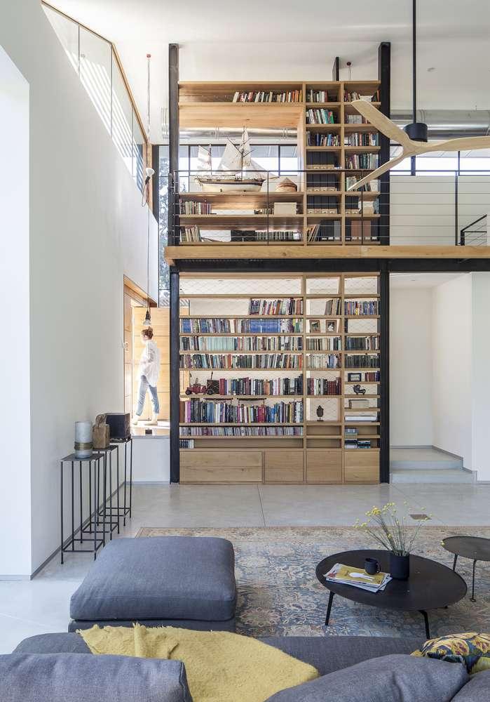 30 ایده خلاقانه طراحی کتابخانه - Library Architecture 14