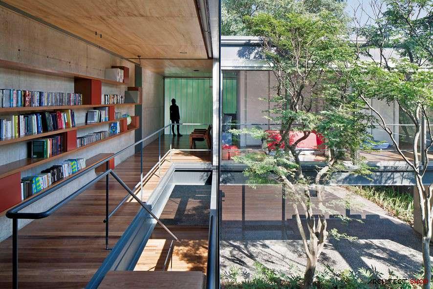 30 ایده خلاقانه طراحی کتابخانه - Library Architecture 15
