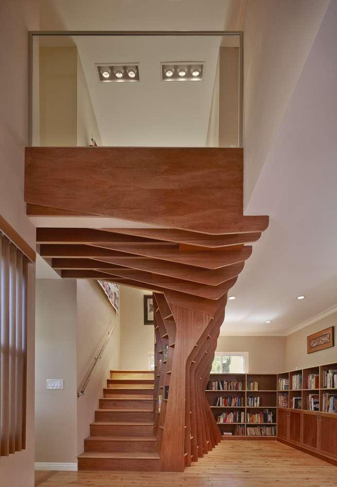 30 ایده خلاقانه طراحی کتابخانه - Library Architecture 16