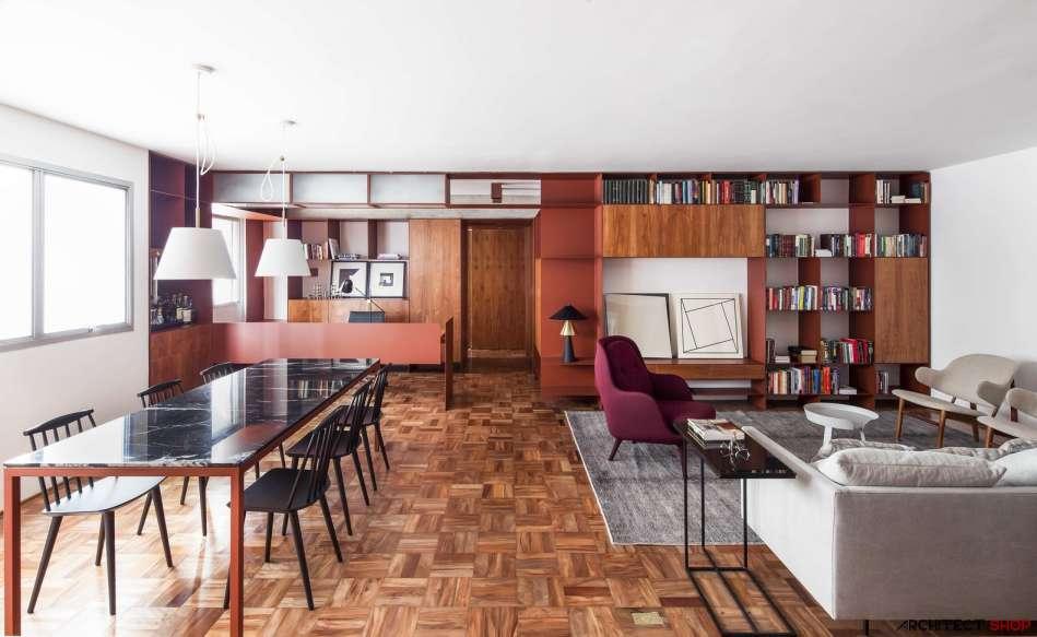 30 ایده خلاقانه طراحی کتابخانه - Library Architecture 19