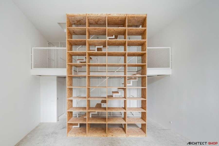 30 ایده خلاقانه طراحی کتابخانه - Library Architecture 2