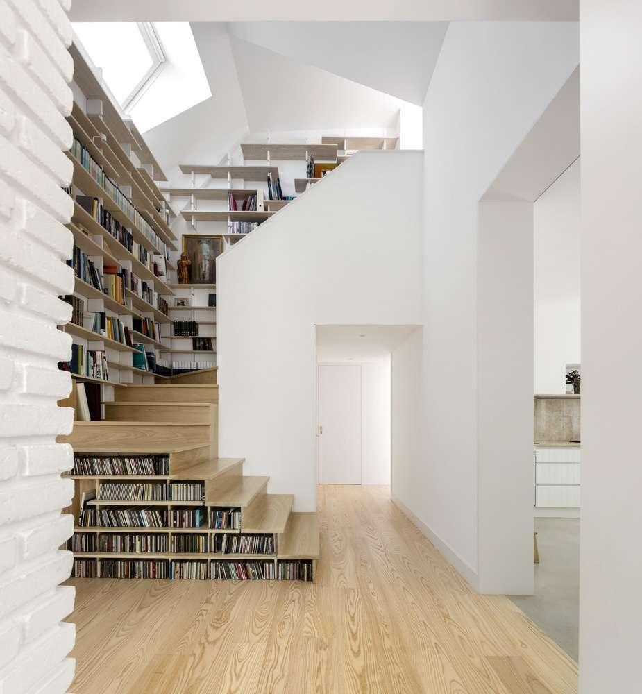 30 ایده خلاقانه طراحی کتابخانه - Library Architecture 21