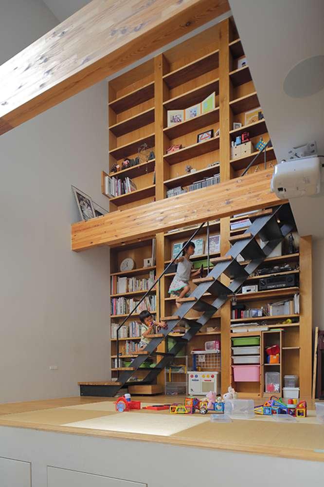 30 ایده خلاقانه طراحی کتابخانه - Library Architecture 22