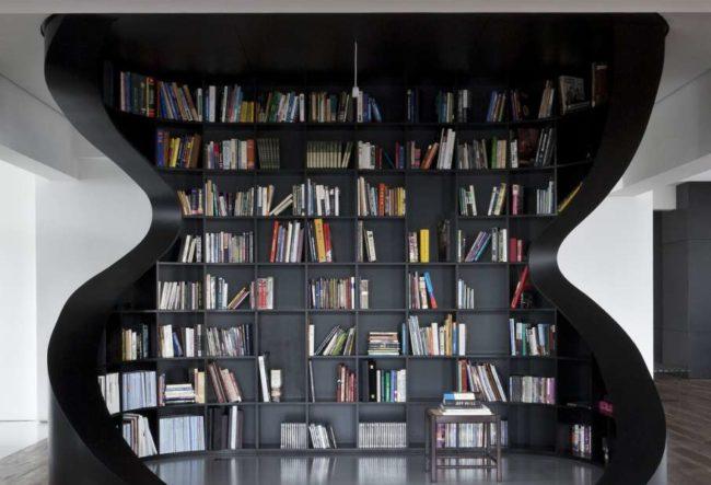 30 ایده خلاقانه طراحی کتابخانه