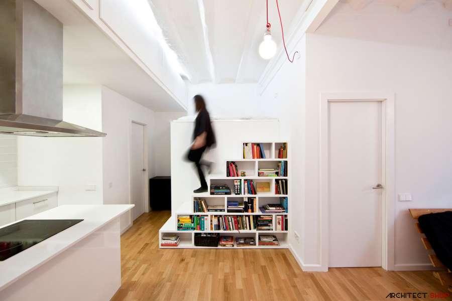 30 ایده خلاقانه طراحی کتابخانه - Library Architecture 29