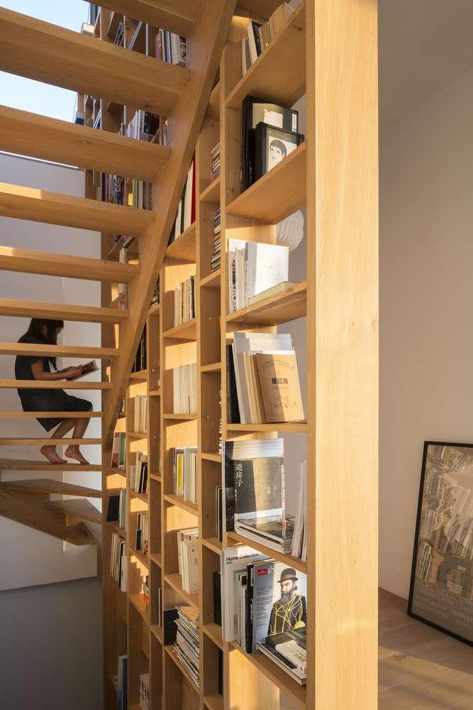 30 ایده خلاقانه طراحی کتابخانه - Library Architecture 3