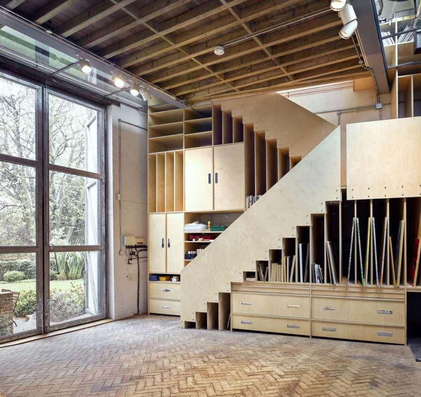 30 ایده خلاقانه طراحی کتابخانه - Library Architecture 4
