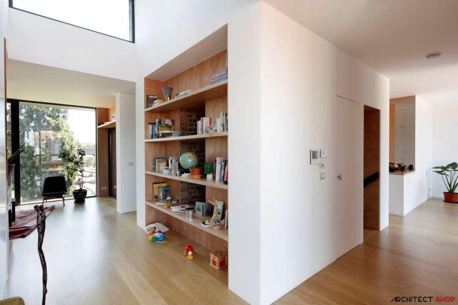 30 ایده خلاقانه طراحی کتابخانه - Library Architecture 8