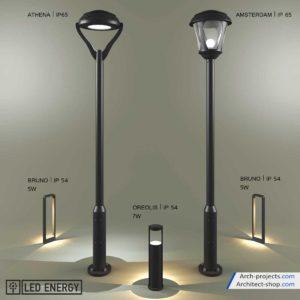 مدل سه بعدی چراغ خیابانی