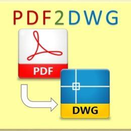دانلود نرم افزار تبدیل pdf به اتوکد