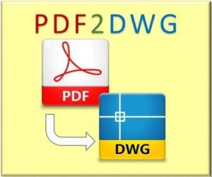 دانلود نرم افزار تبدیل pdf به اتوکد - OverCAD PDF to DWG Converter 2 300x250