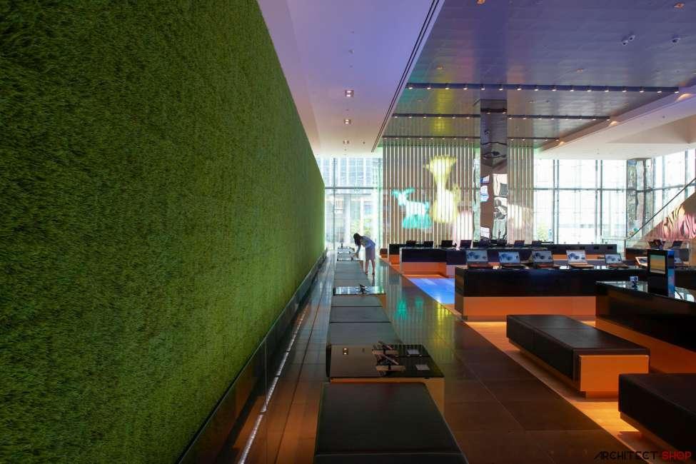 طراحی ساختمان های اداری سامسونگ - Samsung Tower 7