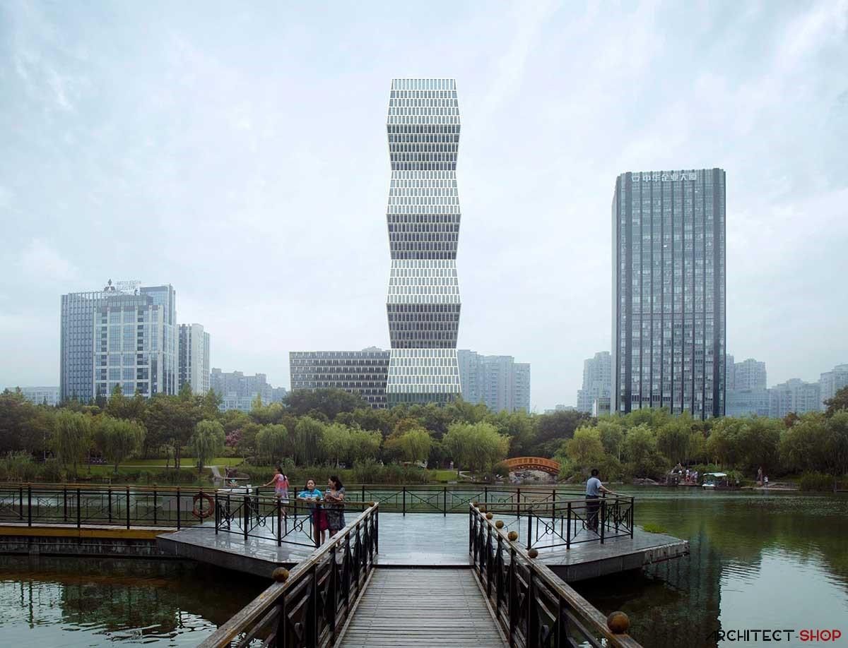 طراحی برج اداری تجاری در چین - Soho Tower 1 1
