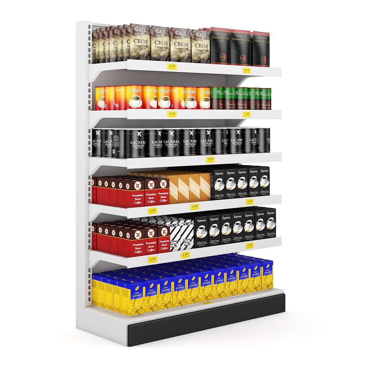 مدل سه بعدی سوپرمارکت از CGAxis (مجموعه اول)