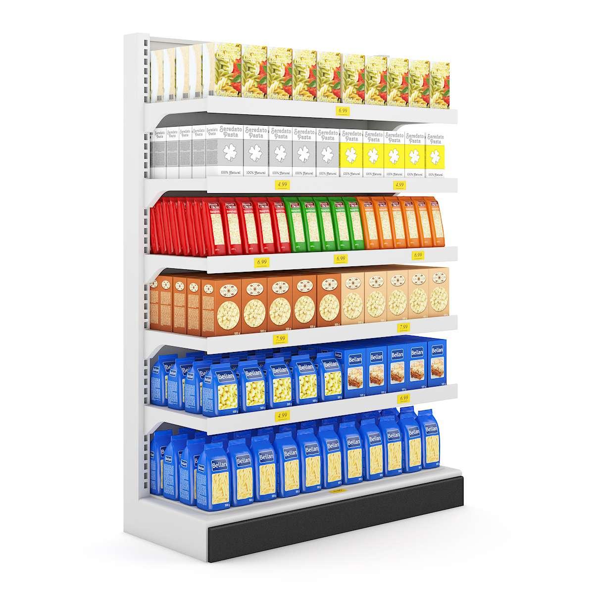 مدل سوپرمارکت