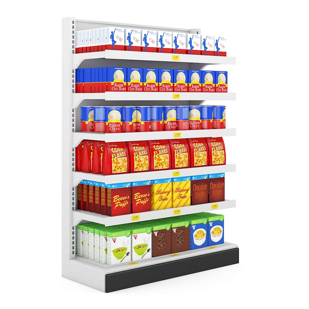 آبجکت لوازم سوپرمارکت