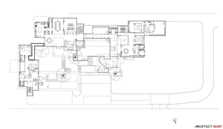 طراحی ویلا برای ماشین بازها - Villa OKS CASA 31