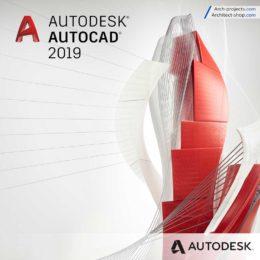دانلود Autodesk AutoCAD 2019 x86/x64